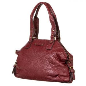 Sac à main Abaco - Mini odelia python bordeaux